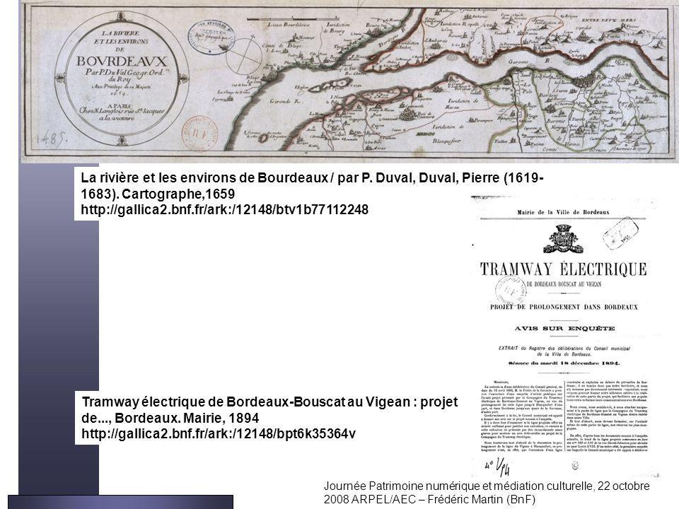 La rivière et les environs de Bourdeaux / par P