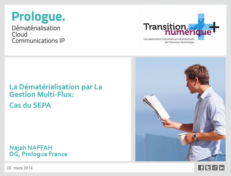 La Dématérialisation par La Gestion Multi-Flux: Cas du SEPA