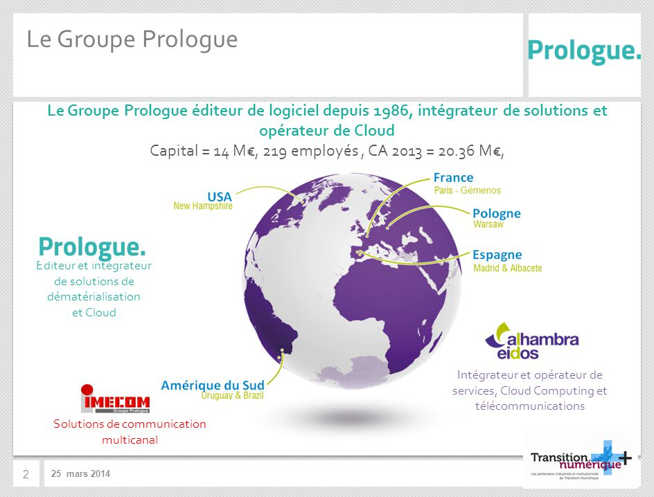 Le Groupe Prologue