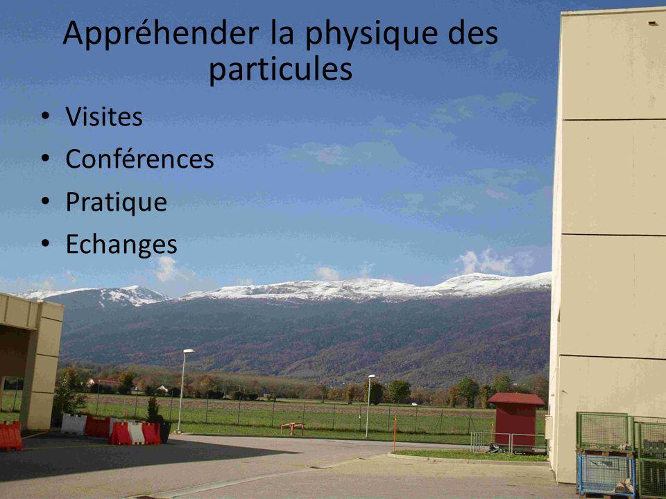 Appréhender la physique des particules