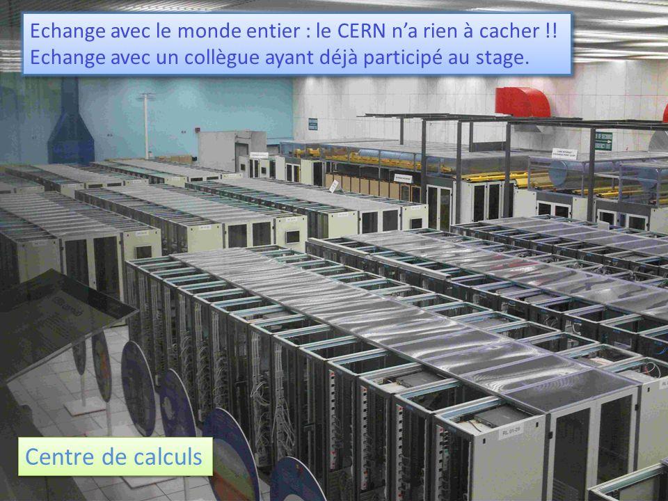 Echange avec le monde entier : le CERN n'a rien à cacher !!