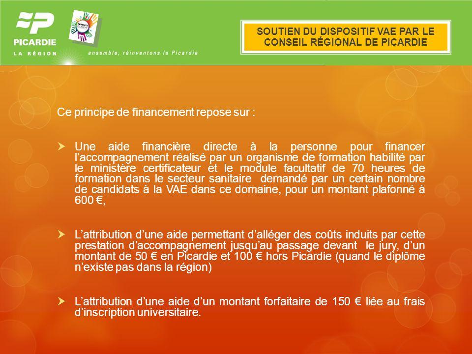 Le dispositif VAE en Picardie