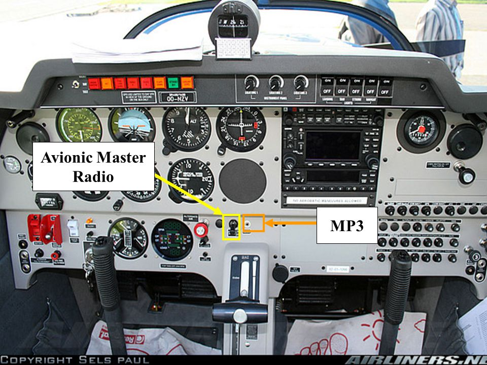 Avionic Master Radio MP3