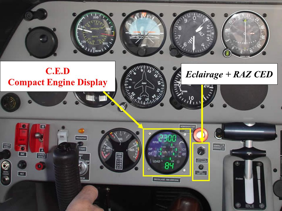 Compact Engine Display