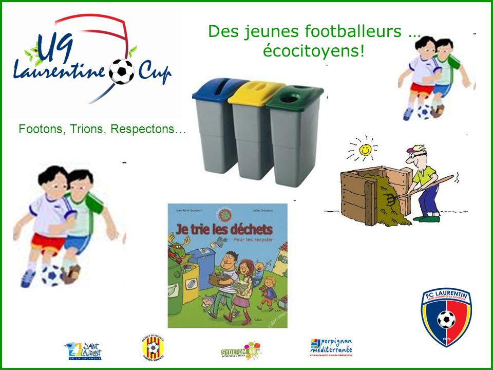 Des jeunes footballeurs … écocitoyens!