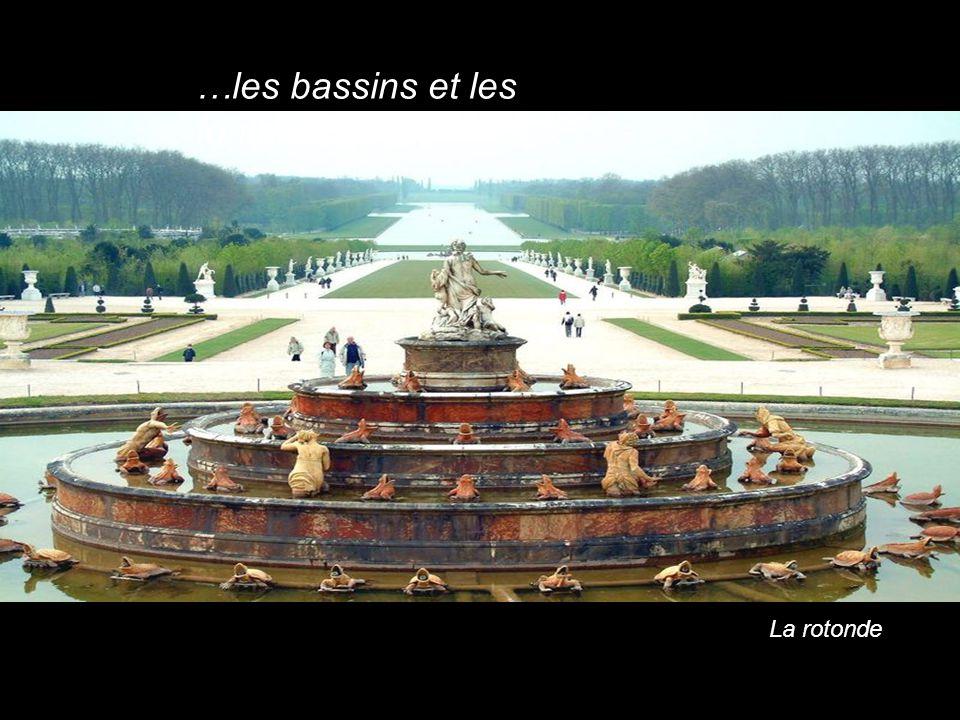 …les bassins et les fontaines