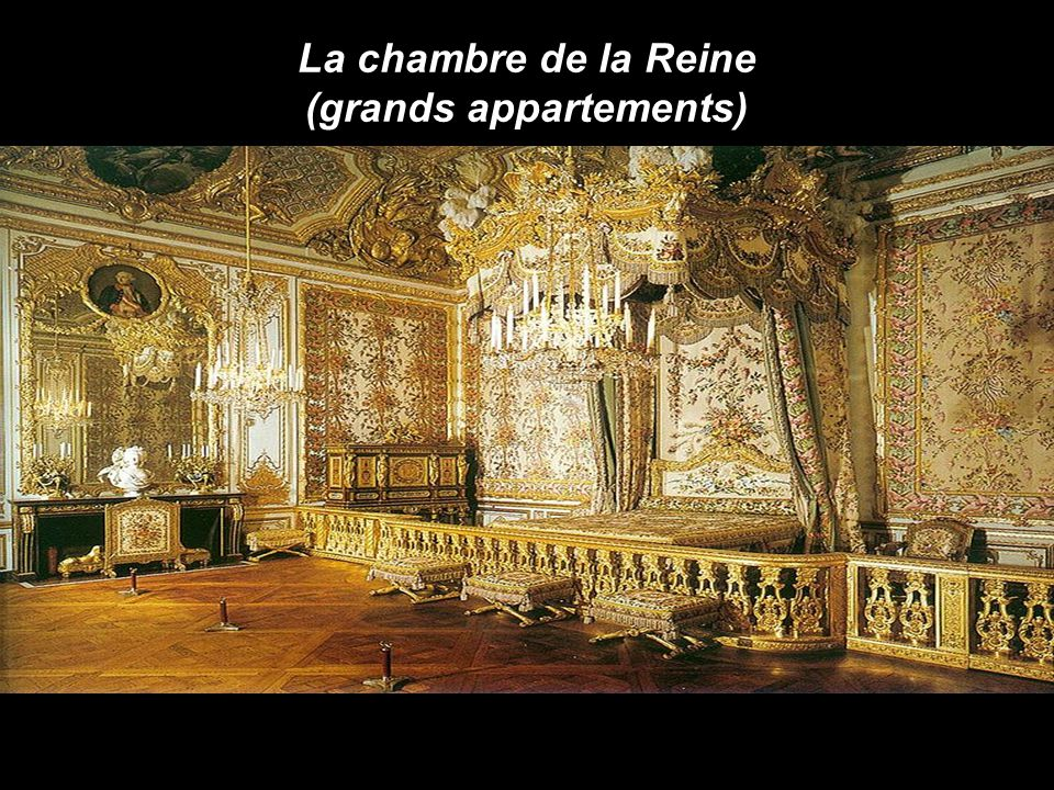 La chambre de la Reine (grands appartements)