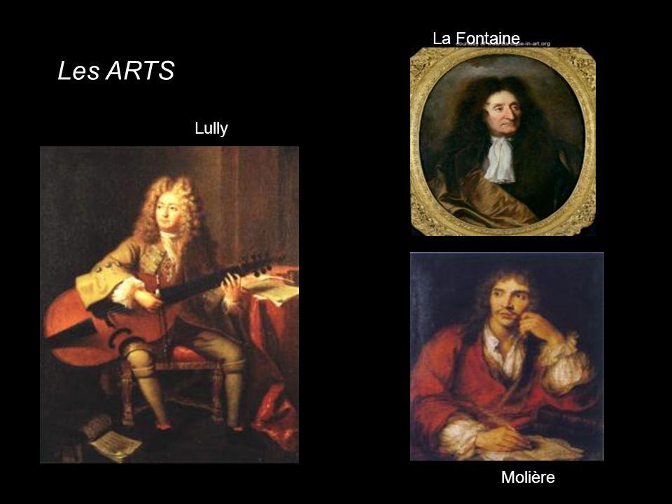 La Fontaine Les ARTS Lully Molière