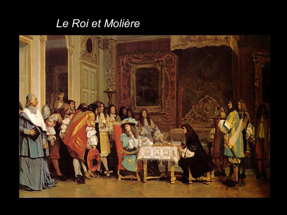 Le Roi et Molière