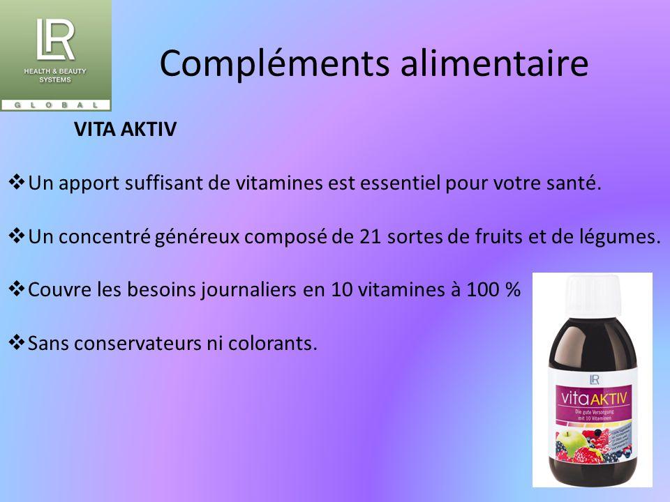 Compléments alimentaire