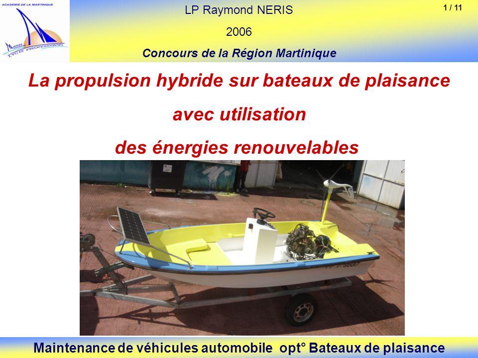 La propulsion hybride sur bateaux de plaisance avec utilisation