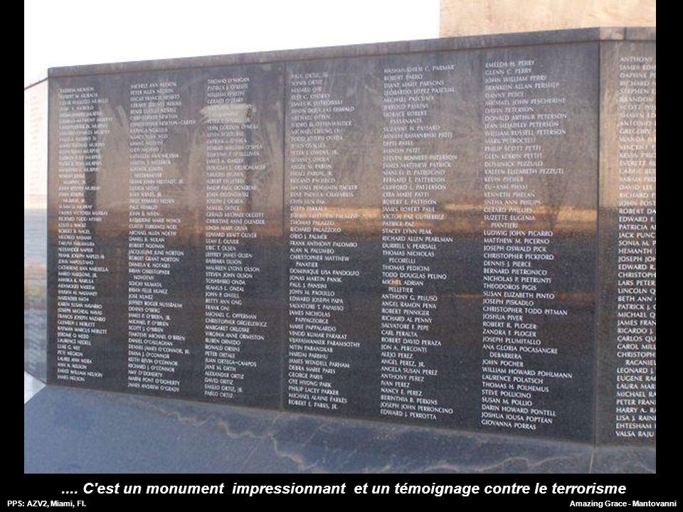 .... C est un monument impressionnant et un témoignage contre le terrorisme