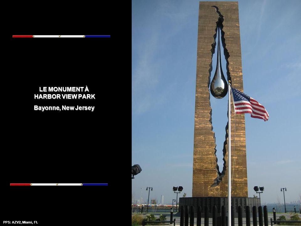 LE MONUMENT À HARBOR VIEW PARK Bayonne, New Jersey