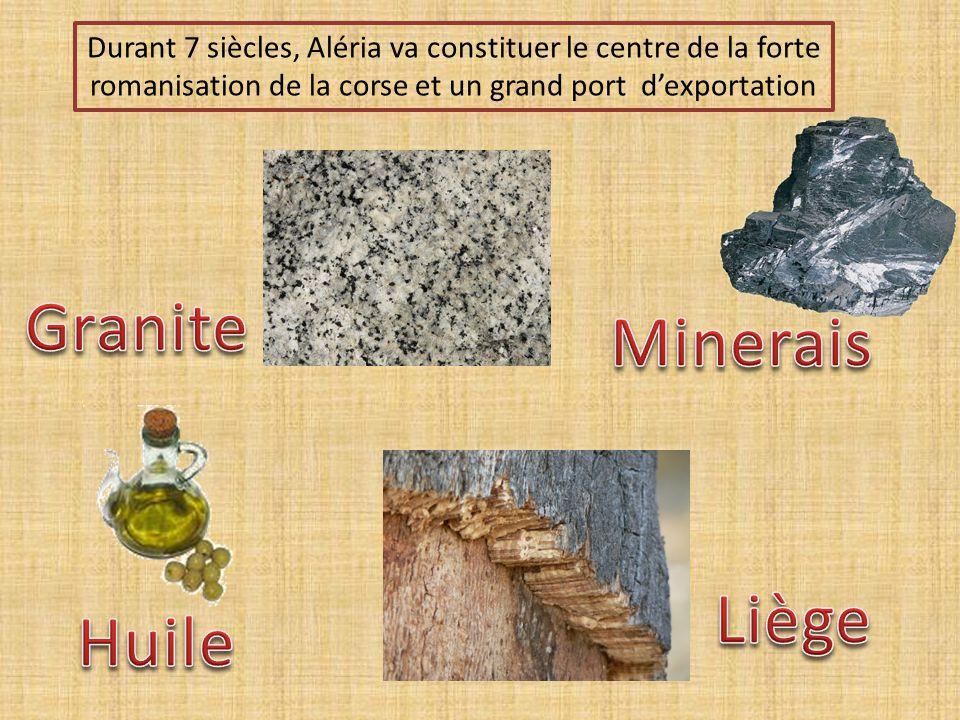 Granite Minerais Liège Huile