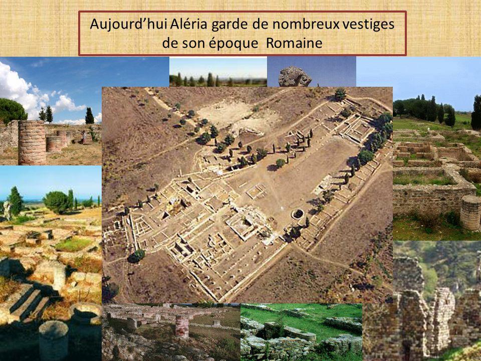Aujourd'hui Aléria garde de nombreux vestiges de son époque Romaine
