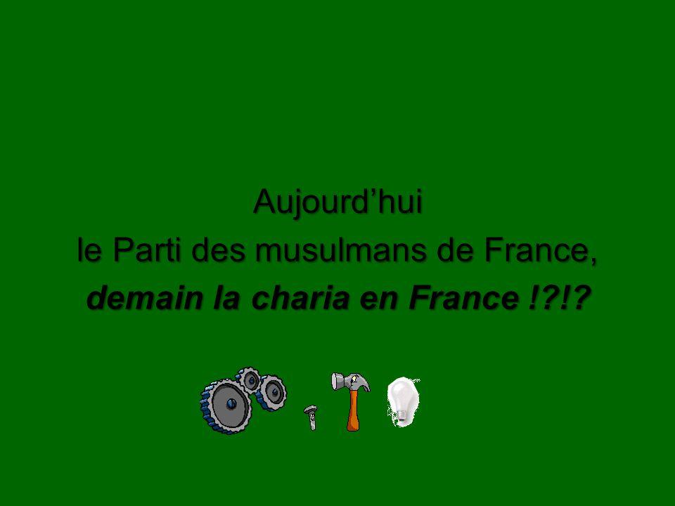 demain la charia en France ! !