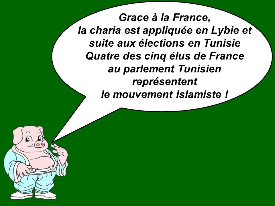 la charia est appliquée en Lybie et suite aux élections en Tunisie