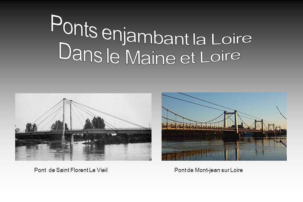 Ponts enjambant la Loire