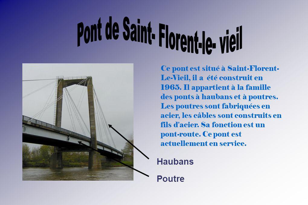 Pont de Saint- Florent-le- vieil