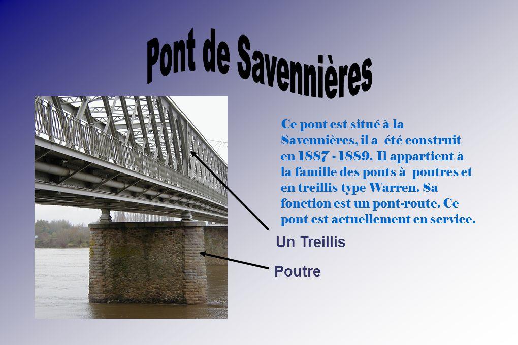 Pont de Savennières Poutre