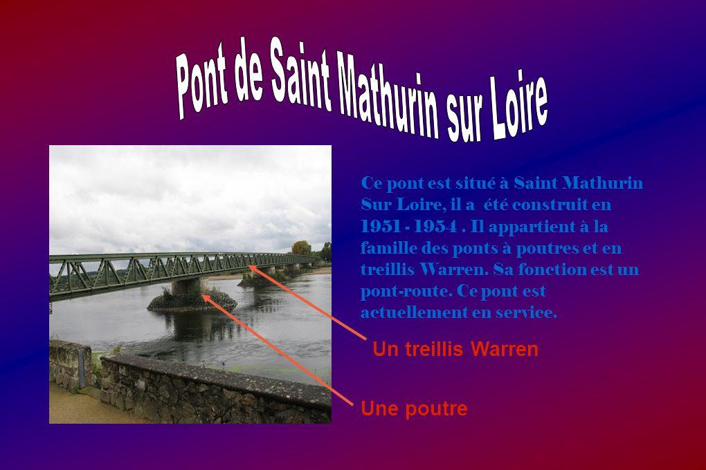 Pont de Saint Mathurin sur Loire