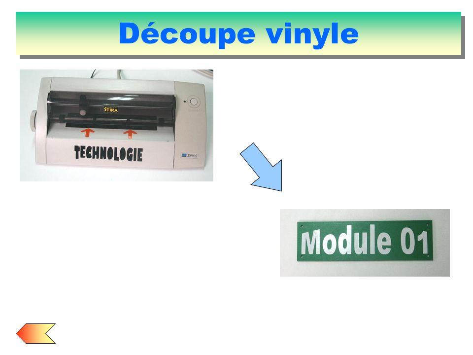 Découpe vinyle