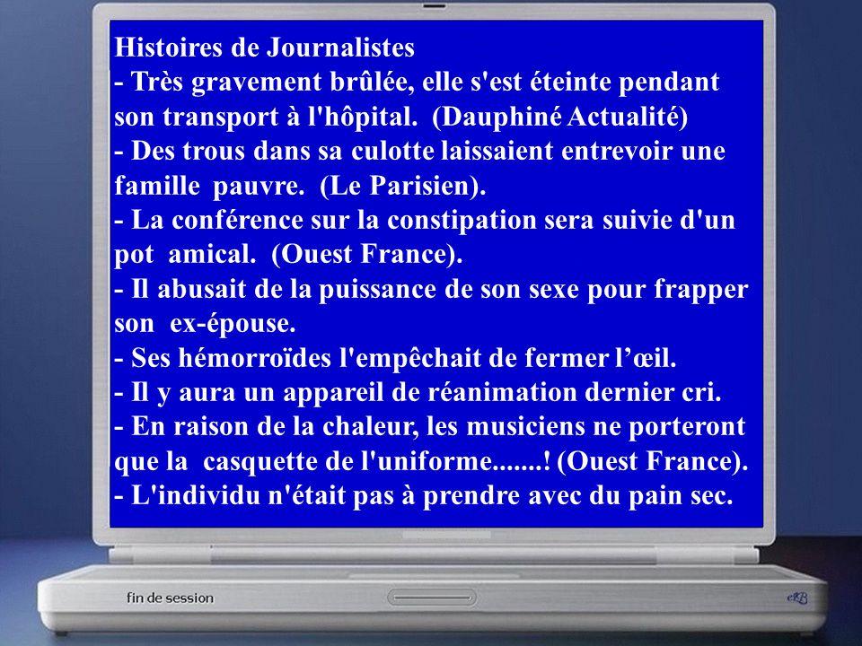 Histoires de Journalistes