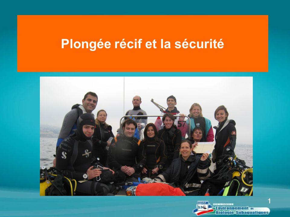Plongée récif et la sécurité