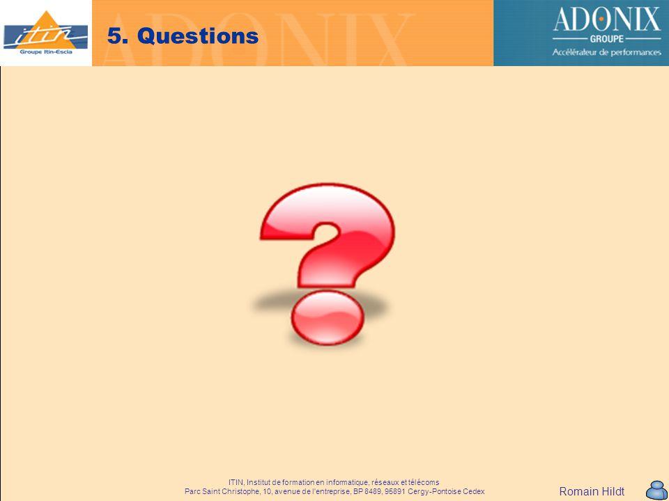 5. Questions Romain Hildt