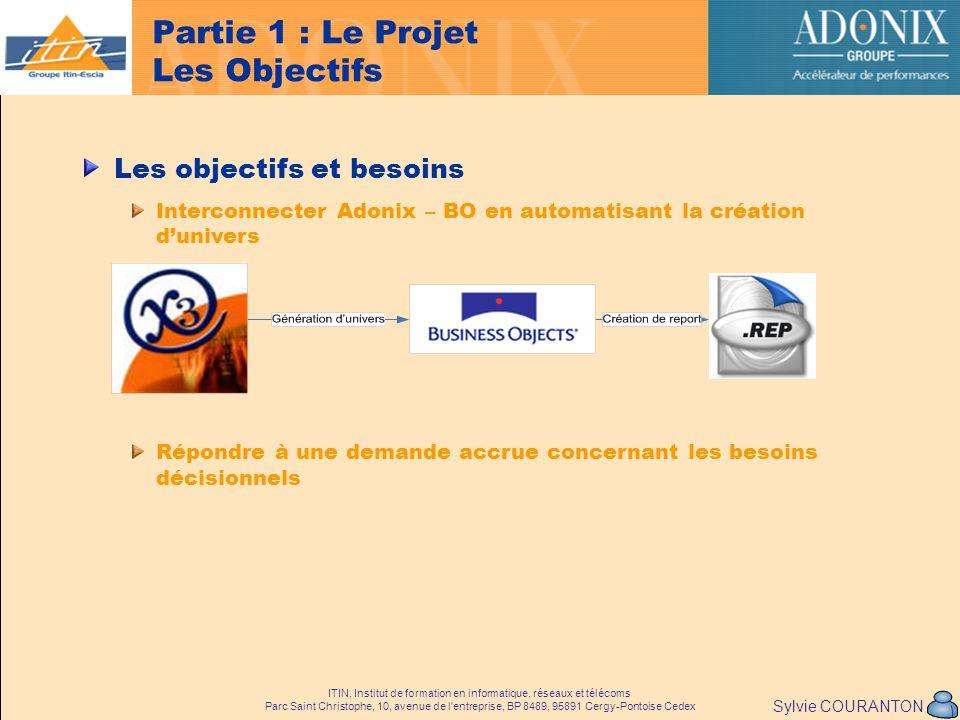 Partie 1 : Le Projet Les Objectifs