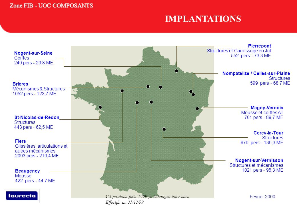 IMPLANTATIONS Pierrepont Structures et Garnissage en Jat