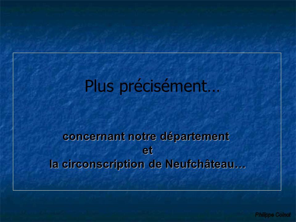 concernant notre département la circonscription de Neufchâteau…