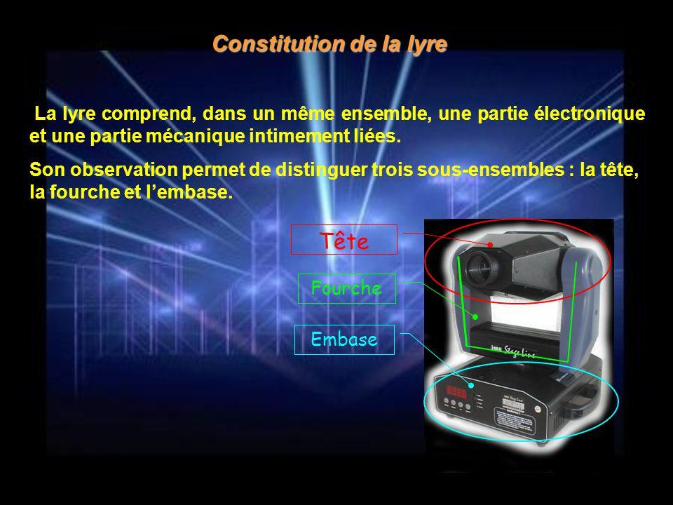 Constitution de la lyre