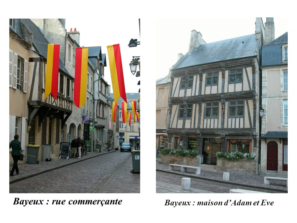 Bayeux : maison d'Adam et Eve