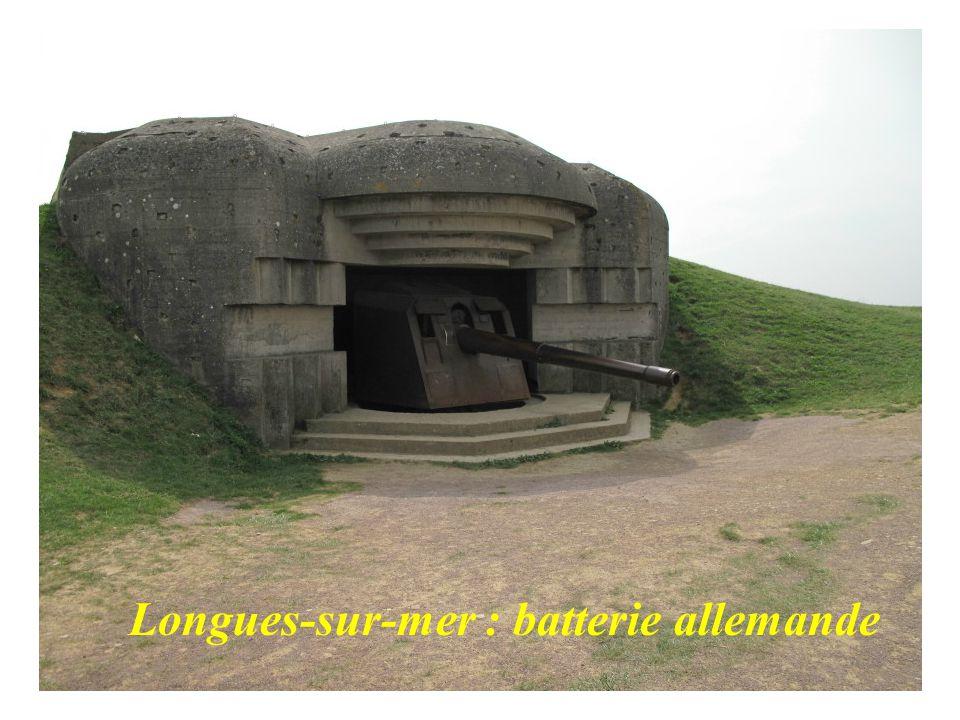Longues-sur-mer : batterie allemande