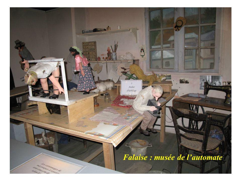 Falaise : musée de l'automate