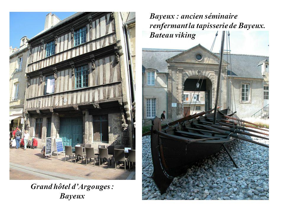 Grand hôtel d'Argouges : Bayeux