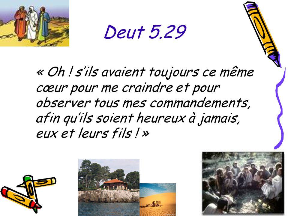 Deut 5.29