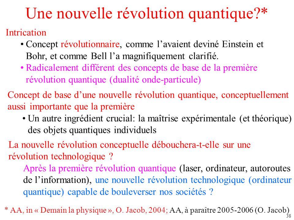 Une nouvelle révolution quantique *