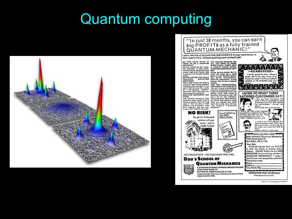 Quantum computing 3/31/2017