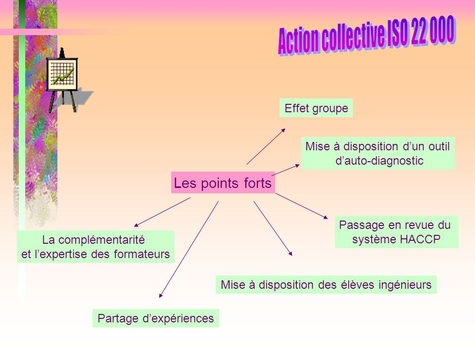 Action collective ISO 22 000 Les points forts Effet groupe
