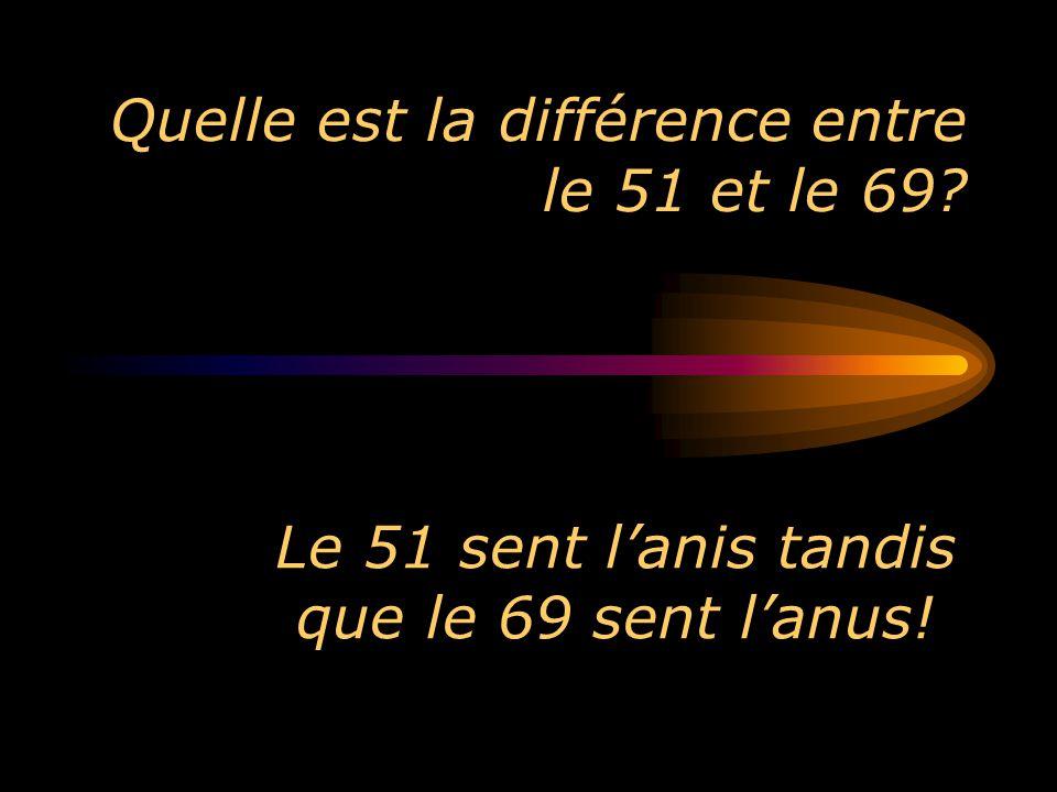 Quelle est la différence entre le 51 et le 69