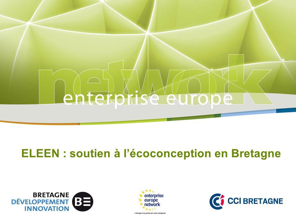 ELEEN : soutien à l'écoconception en Bretagne