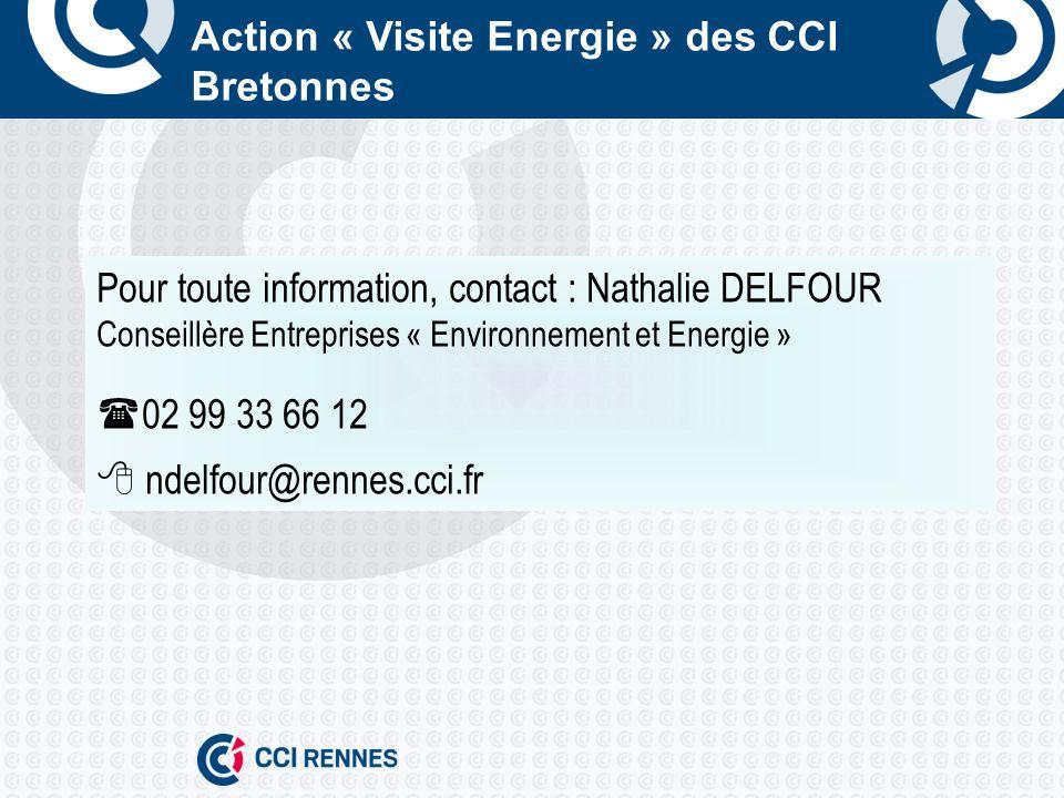 Action « Visite Energie » des CCI Bretonnes