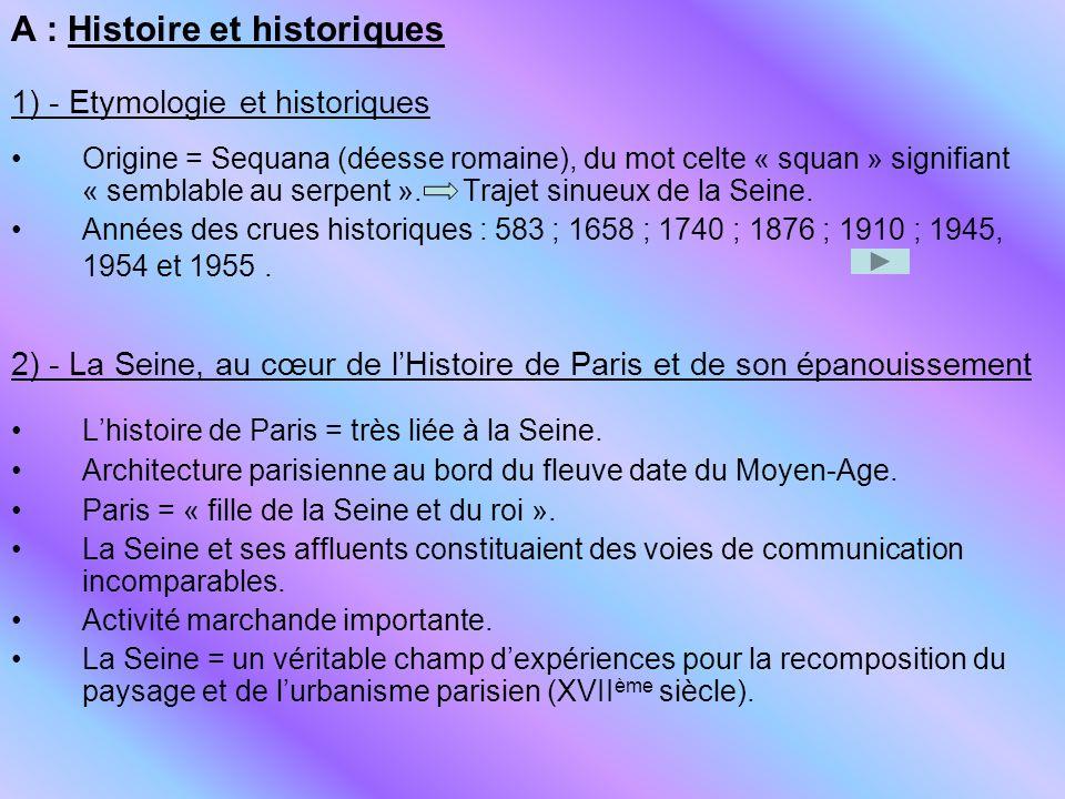 A : Histoire et historiques