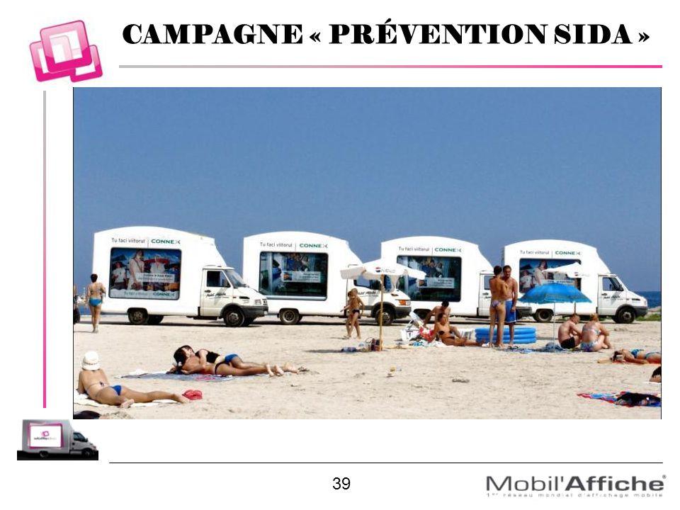 CAMPAGNE « PRÉVENTION SIDA »