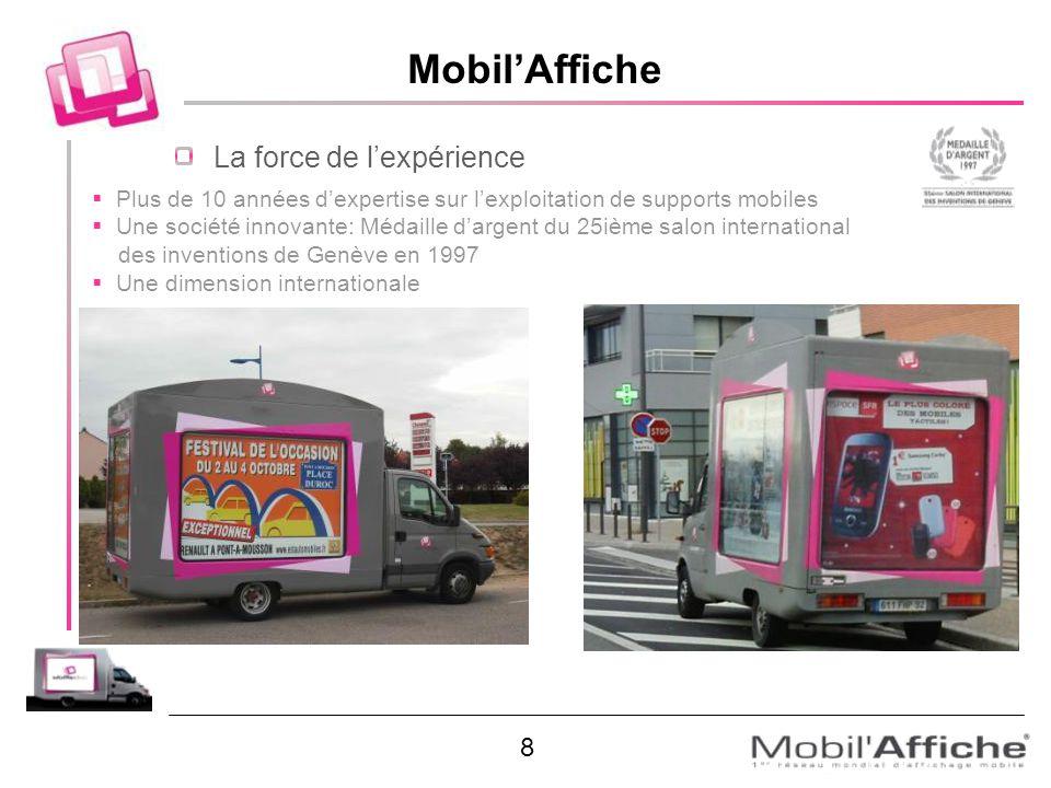 Mobil'Affiche La force de l'expérience 8