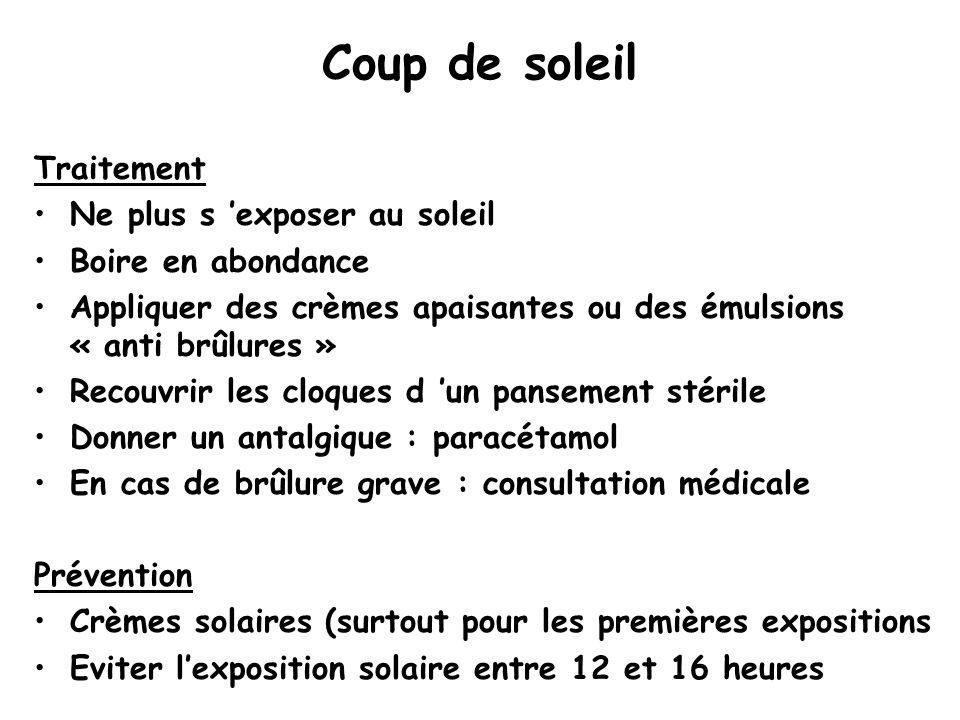 Conseils aux voyageurs ppt t l charger - Coup de soleil 2eme degre ...
