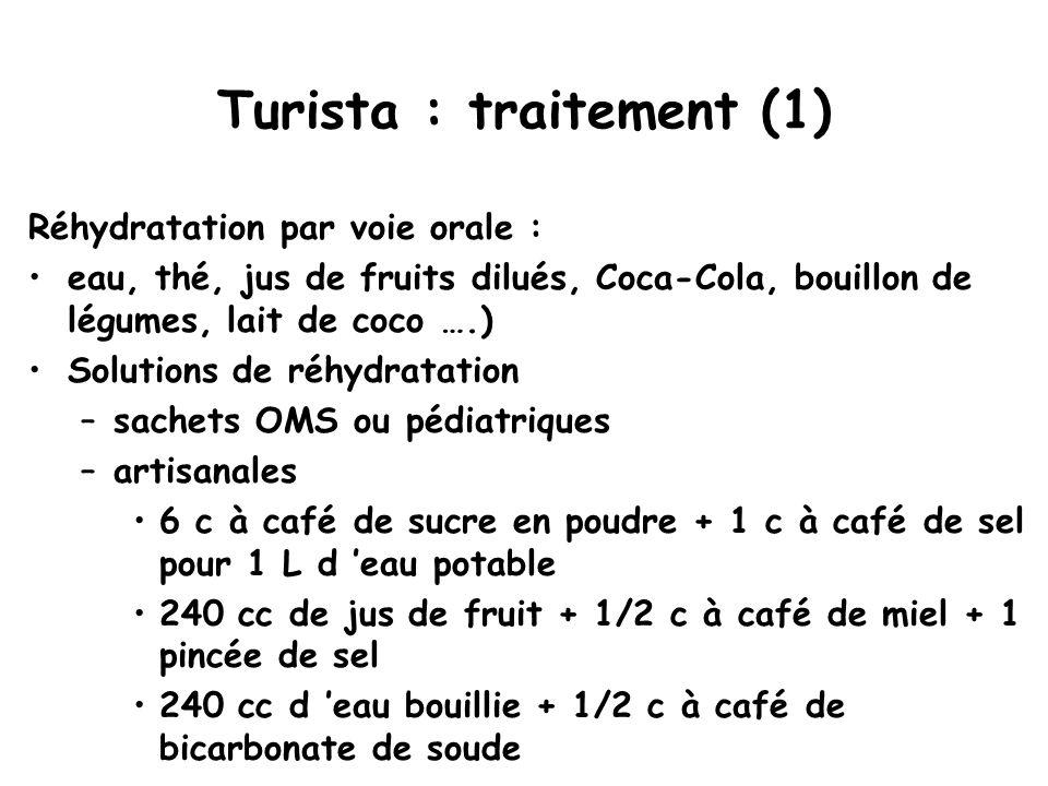 Turista : traitement (1)