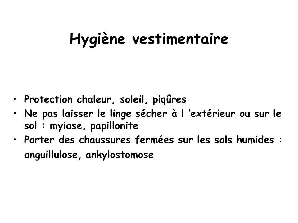 Hygiène vestimentaire